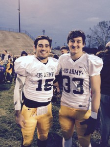 Zach Kelly & Will Douglas - US Army Red Stick Bowl