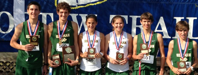cross country all state runners 2013
